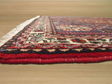 Rust  Traditional Abadeh Rug, 3'6 x 5'1
