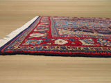 Navy Traditional Sarouk Rug, 3'5 x 5'3