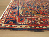 Navy Traditional Bidjar Rug, 3'7 x 4'10