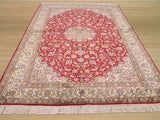Red Traditional Kashmir Rug, 4'1 x 6'2