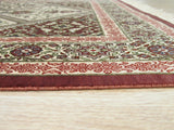 Ivory Traditional Qum Rug, 2'7 x 4'0