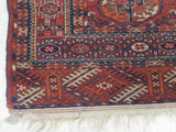 Rust Traditional Baluchi Rug, 3'10 x 5'2