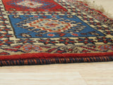 Blue Traditional Yalameh Rug, 2' 1 x 2' 9