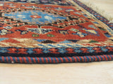Blue Traditional Yalameh Rug, 2' 2 x 3'