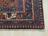 Rust Traditional Yalameh Rug, 5' 4 x 8'