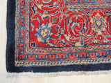 Blue Traditional Sarouk Rug, 9' 8 x 13' 1
