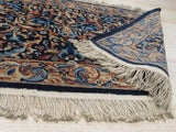 Blue Traditional Kerman Rug, 1'11 x 5'8