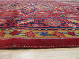 Red Traditional Heriz Rug