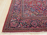 Red Traditional Kashan Rug