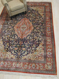 Blue Traditional Sino Rug