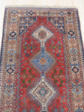 Red Traditional Yalameh Rug