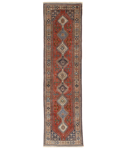 Red Traditional Oriental Yalameh Rug