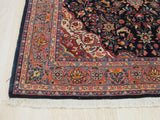 Blue Traditional Sarouk Rug