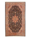 Blue Traditional Oriental Sino Rug