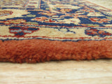 Rust Traditional Agra Rug, 3' x 6'3