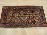 Ivory Traditional Malayer Rug, 2'4 x 4'4