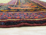 Rust Traditional Kazak Rug, 4'8 x 7'1