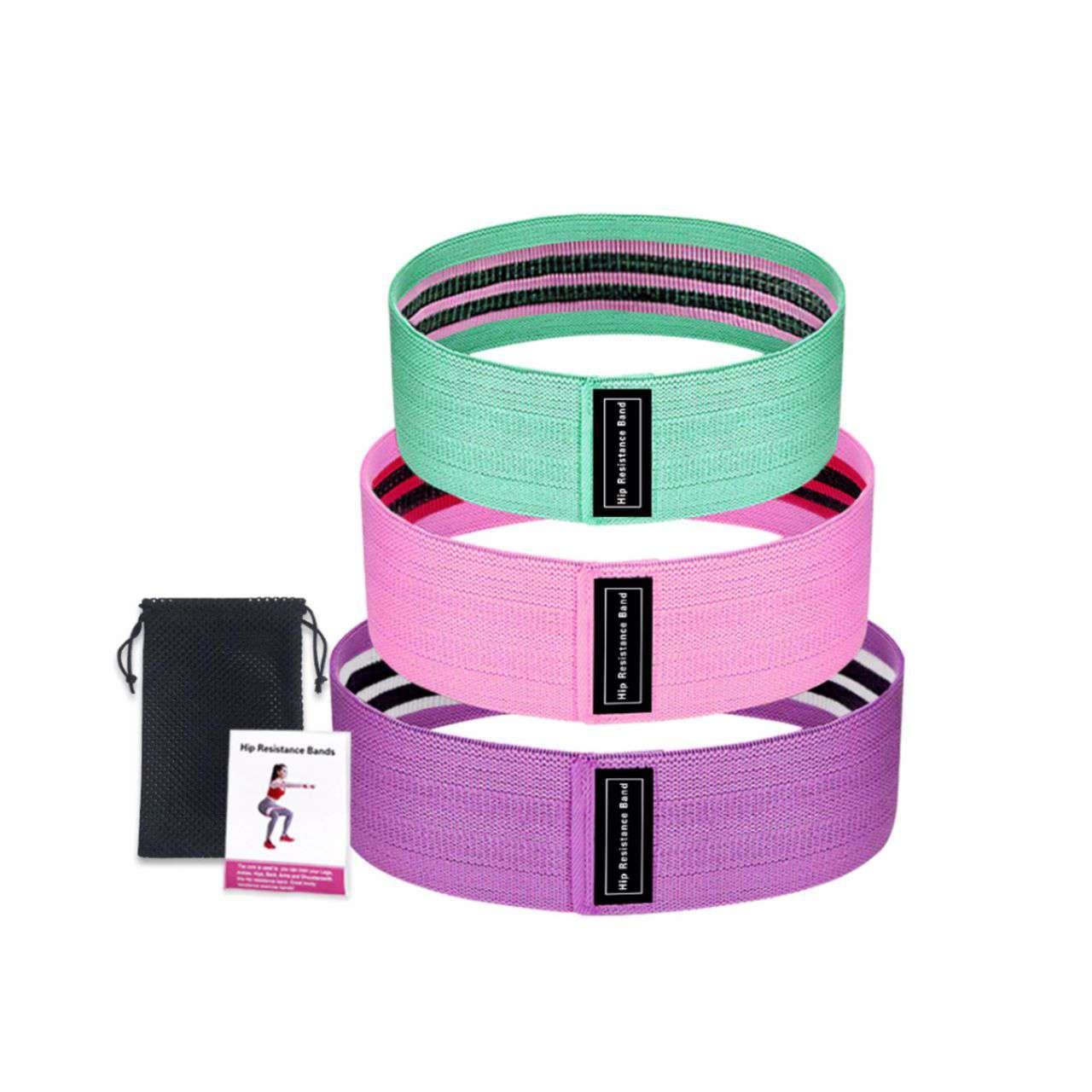 Ultimate Resistance Fitness ™ Hip Fabric Bands
