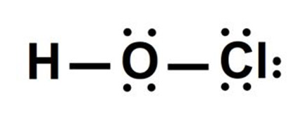 Lewis Structure For HOCL