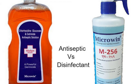 USE OF ANTISEPTICS AND DISINFECTANTS