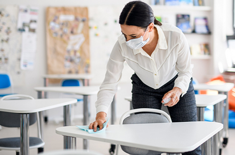 Cleaning And Sterilization In Schools