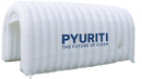 Pyuriti Tunnel Disinfectant Entrance & Exit