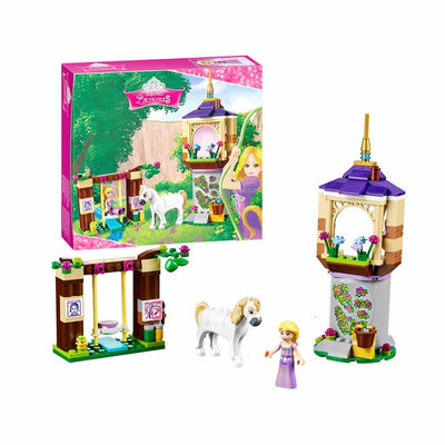 Princess Rapunzel Castle Gardens Building Blocks