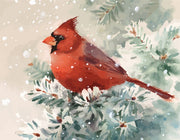 Cardinal Paint by Numbers