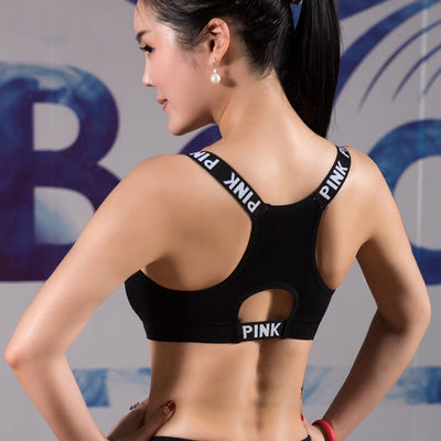 Push Up Sports Bra Fitness Women Sport Bra Top Black Padded Yoga Brassiere Sport Bra Sports Top Bralette bh sujetador deportivo