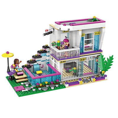 Pop Star Livi's House Building Blocks