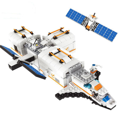 Lunar Space Station Building Blocks