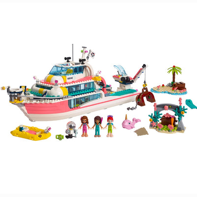 Rescue Mission Boat Building Blocks
