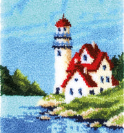 Lighthouse Rug Latch Hooking Kit