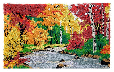 Autumn Rug Latch Hooking Kit