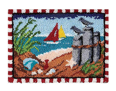 Beach Rug Latch Hooking Kit