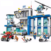 City Police Station Building Blocks