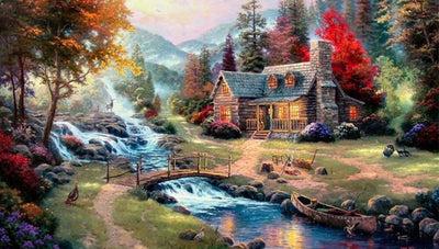 Cottage 5D Diamond Painting Kit