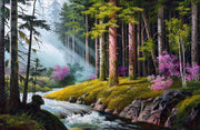Forest River 5D Square Diamond Painting Kit