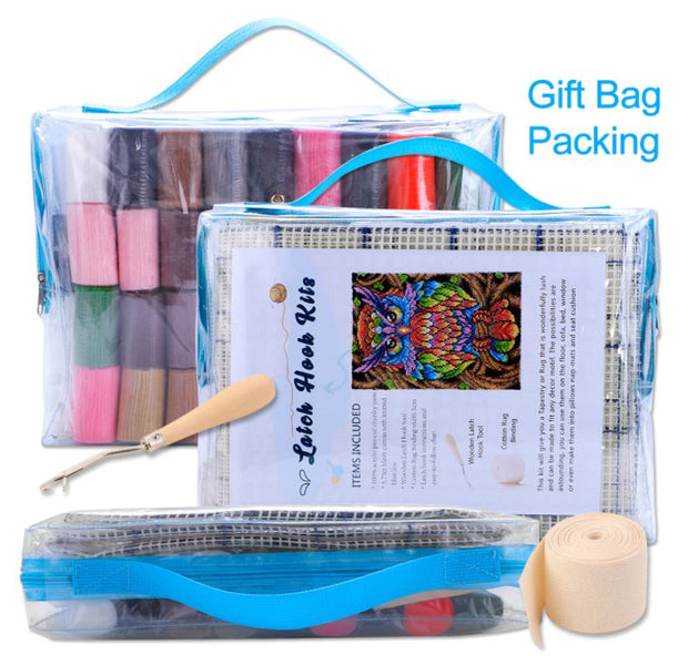Spring Garden Rug Latch Hooking Kit (81x58cm)