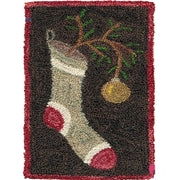 Christmas Sock Latch Hook Rug Kit