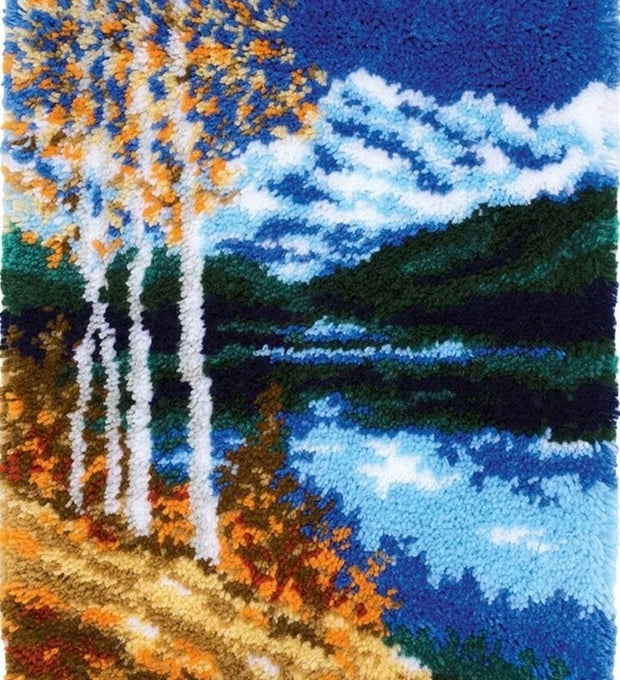 Mountains Landscape Rug Hooking Kit