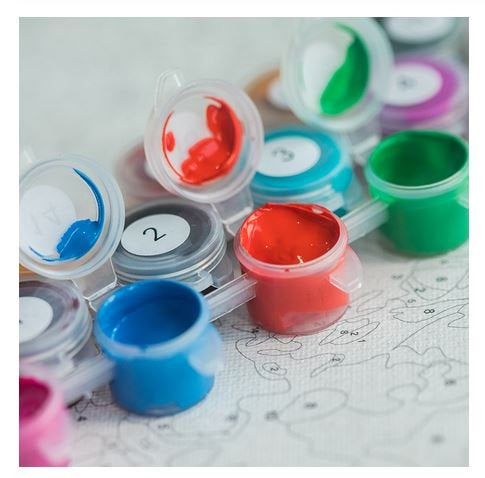 Waves Paint by Numbers Kit