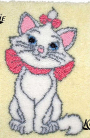 Cute Kitten Latch Hook Rug Kit