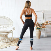 Women's Sport Yoga Leggings (Black)
