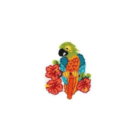 Latch Hook Rug Kit - Parrot