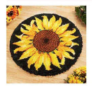 Latch Hook Rug Kit - Sunflower