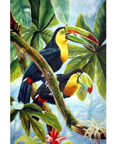 Parrots 5D Diamond Painting Kit