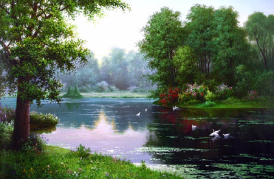Scenic River 5D Diamond Painting Kit
