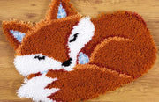 Sleeping Fox Rug Latch Hooking Kit