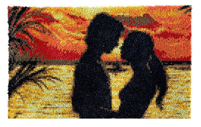 Sunset Romance Rug Latch Hooking Kit (85x59cm)
